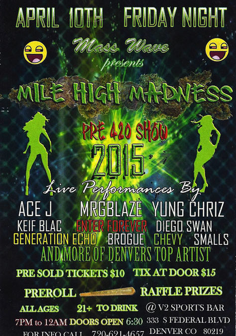 Righteous Revolution to perform at Mile High Madness!