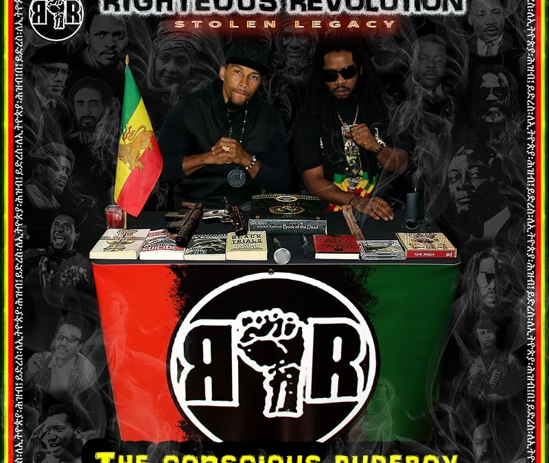 """Righteous Revolution releases """"Stolen Legacy – The Conscious RudeBoy"""""""